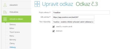 Youstice_odkazy