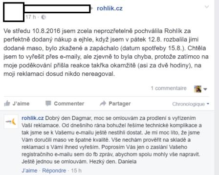 Správná reakce Fcb Rohlik