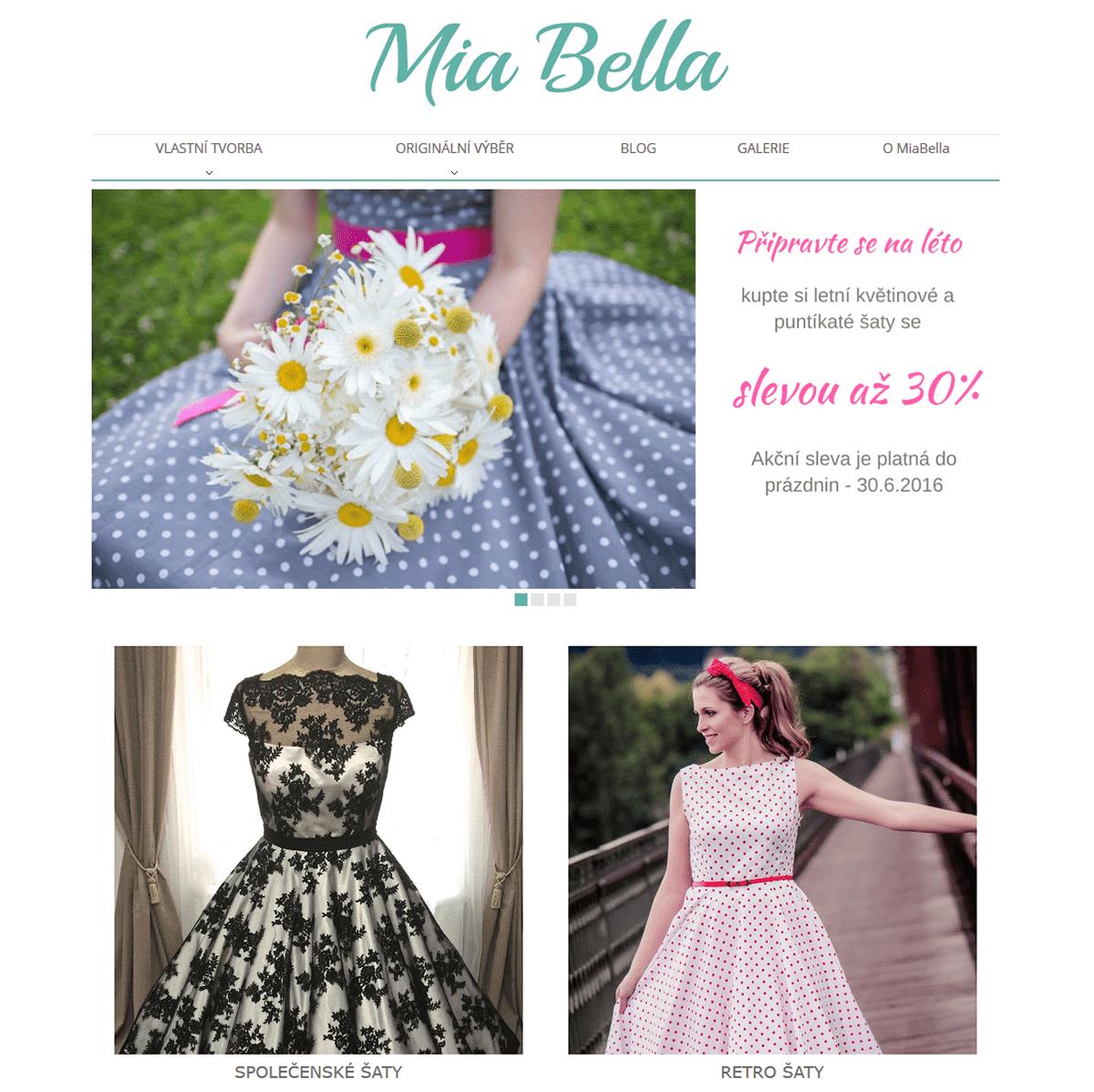 Retro móda od Mia Bella
